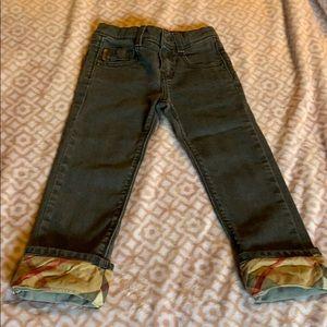 Burberry girls' jeans